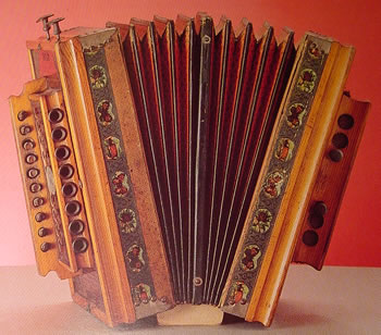 Melodeon uit 1890